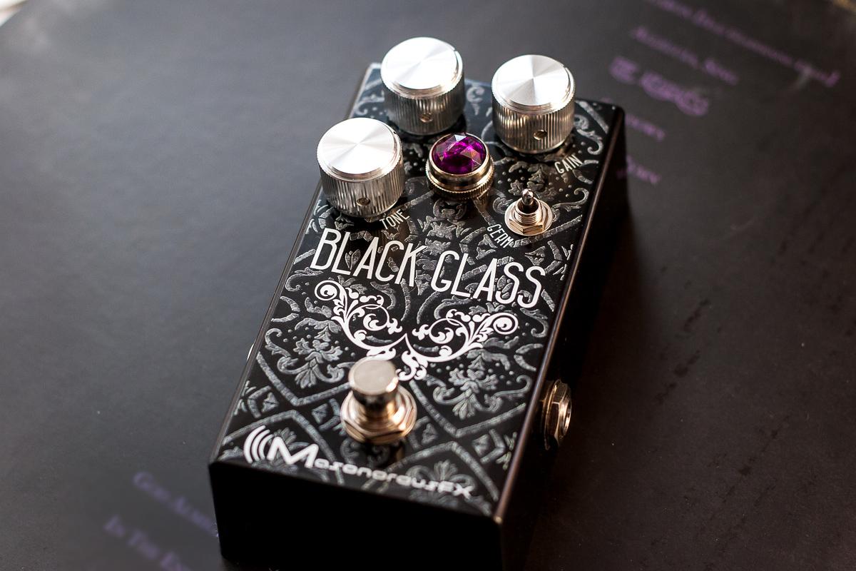 MasonorousFX Black Glass Germanium Hybrid Overdrive